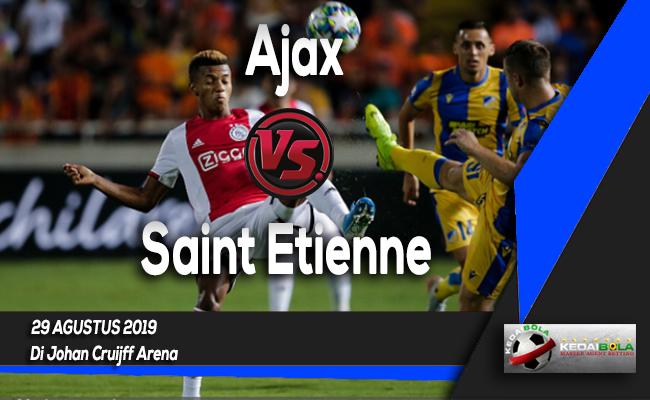 Prediksi Skor Bola Ajax vs Apoel 29 Agustus 2019