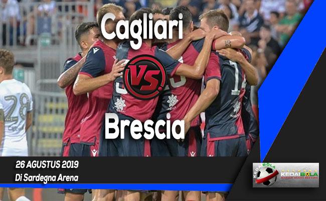 Prediksi Skor Bola Cagliari vs Brescia 26 Agustus 2019