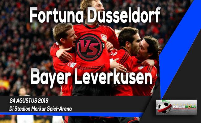 Prediksi Skor Bola Fortuna Dusseldorf vs Bayer Leverkusen 24 Agustus 2019
