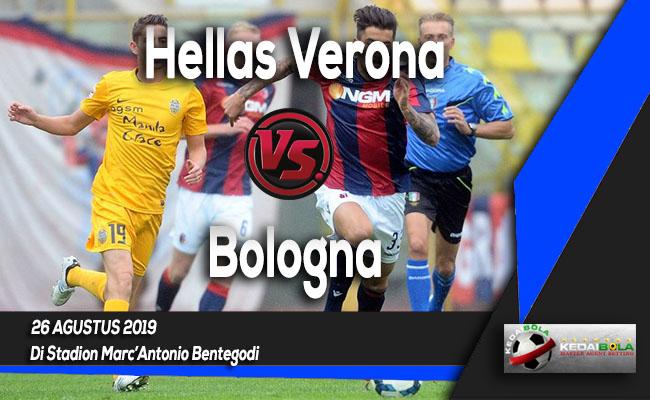 Prediksi Skor Bola Hellas Verona vs Bologna 26 Agustus 2019