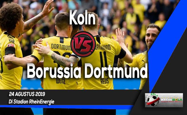 Prediksi Skor Bola Koln vs Borussia Dortmund 24 Agustus 2019