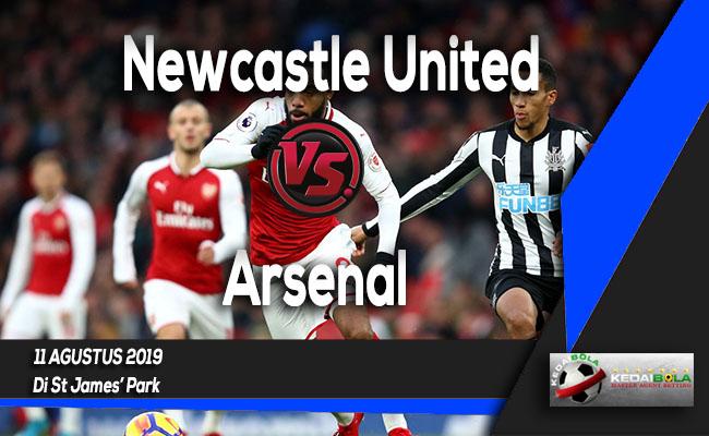 Prediksi Skor Bola Newcastle United vs Arsenal 11 Agustus 2019