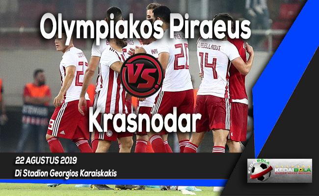Prediksi Skor Bola Olympiakos Piraeus vs Krasnodar 22 Agustus 2019