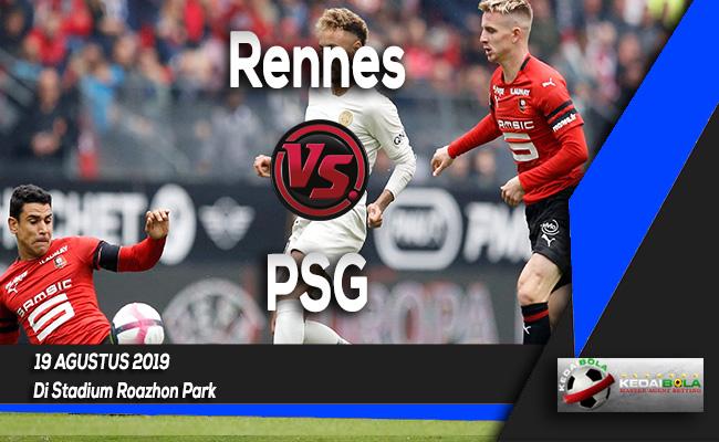 Prediksi Skor Bola Rennes vs PSG 19 Agustus 2019