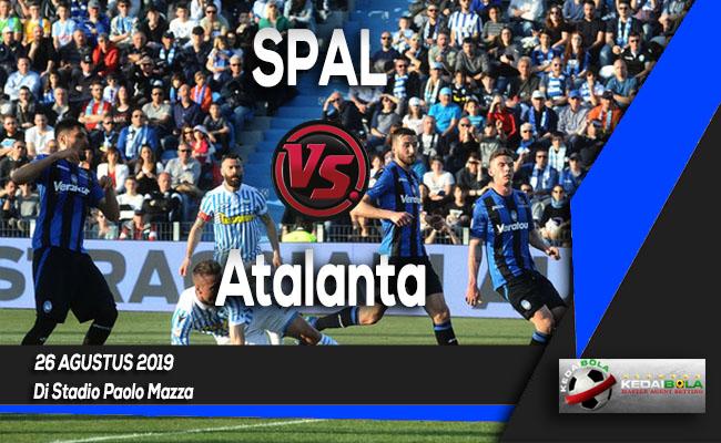Prediksi Skor Bola SPAL vs Atalanta 26 Agustus 2019