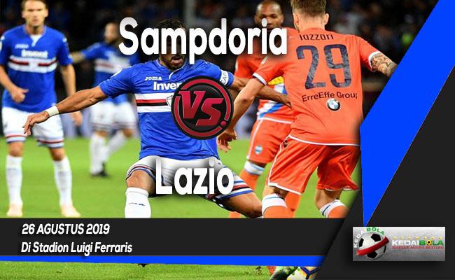 Prediksi Skor Bola Sampdoria vs Lazio 26 Agustus 2019