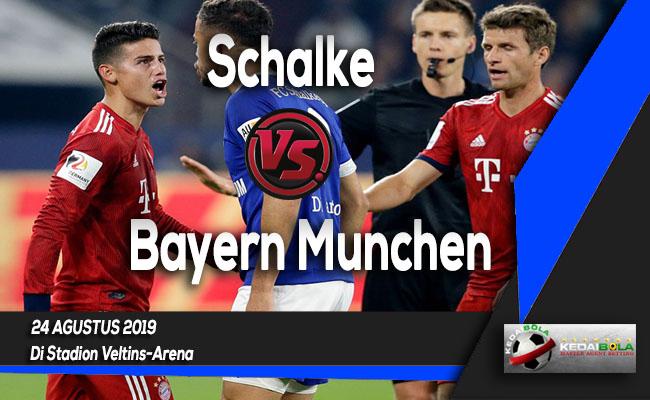 Prediksi Skor Bola Schalke vs Bayern Munchen 24 Agustus 2019
