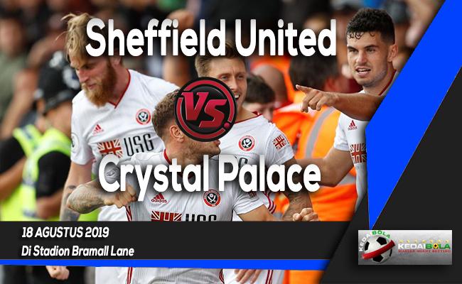 Prediksi Skor Bola Sheffield United vs Crystal Palace 18 Agustus 2019