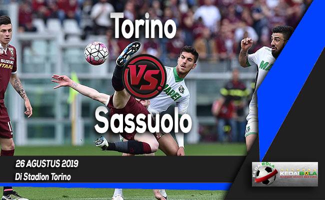 Prediksi Skor Bola Torino vs Sassuolo 26 Agustus 2019