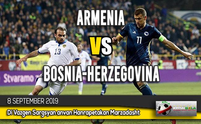 Prediksi Skor Bola Armenia vs Bosnia-Herzegovina 8 September 2019