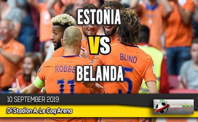 Prediksi Skor Bola Estonia vs Belanda 10 September 2019