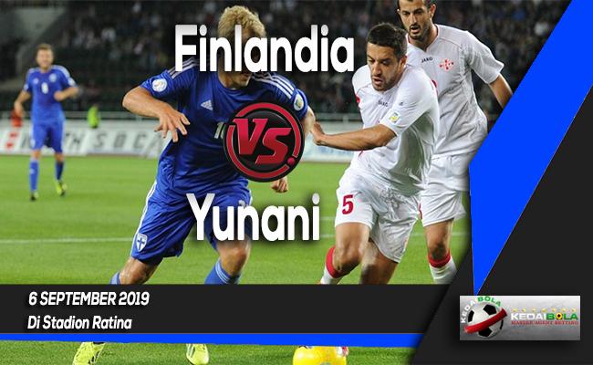 Prediksi Skor Bola Finlandia vs Yunani 6 September 2019