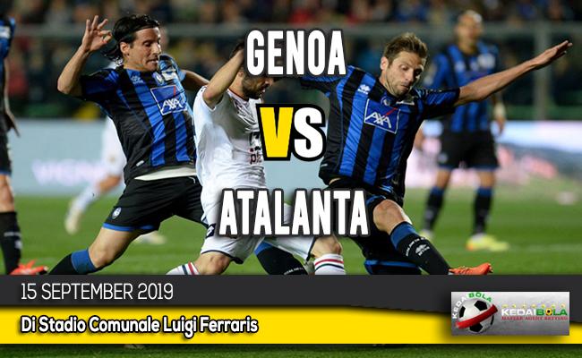 Prediksi Skor Bola Genoa vs Atalanta 15 September 2019