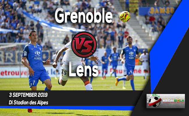 Prediksi Skor Bola Grenoble vs Lens 3 September 2019