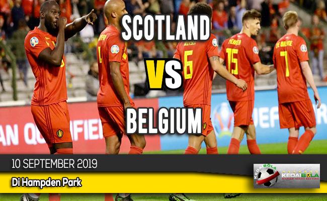 Prediksi Skor Bola Scotland vs Belgium 10 September 2019