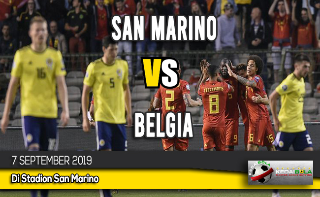 Prediksi San Marino vs Belgia 7 September 2019