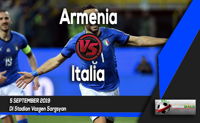 Prediksi Skor Bola Armenia vs Italia 5 September 2019
