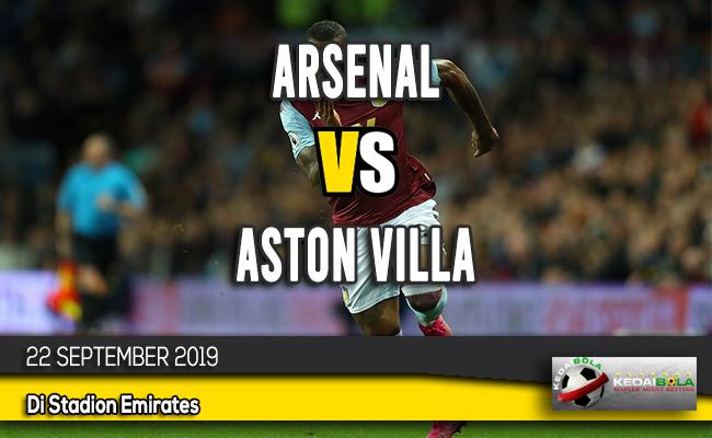 Prediksi Skor Bola Arsenal vs Aston Villa 22 September 2019