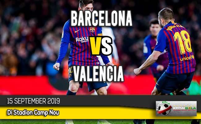 Prediksi Skor Bola Barcelona vs Valencia 15 September 2019