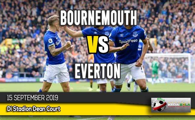Prediksi Skor Bola Bournemouth vs Everton 15 September 2019