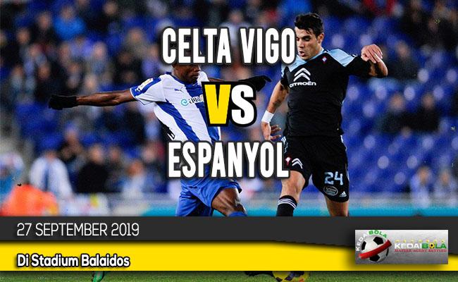 Prediksi Skor Bola Celta Vigo vs Espanyol 27 September 2019