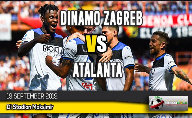 Prediksi Skor Bola Dinamo Zagreb vs Atalanta 19 September 2019
