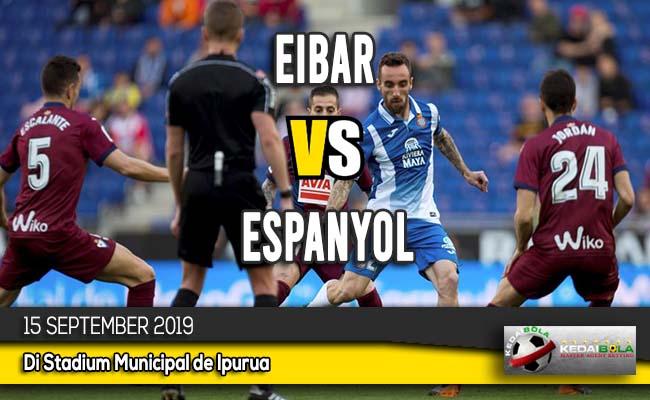 Prediksi Skor Bola Eibar vs Espanyol 15 September 2019