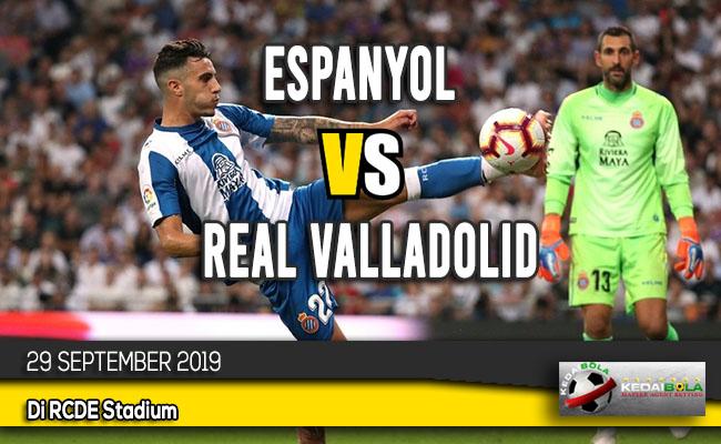 Prediksi Skor Bola Espanyol vs Real Valladolid 29 September 2019