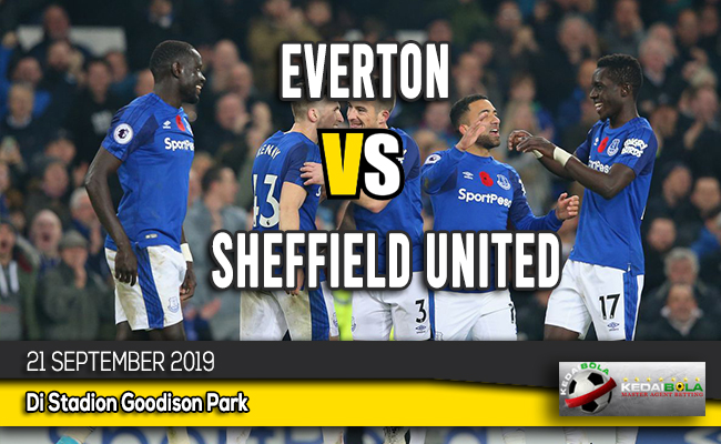 Prediksi Skor Bola Everton vs Sheffield United 21 September 2019