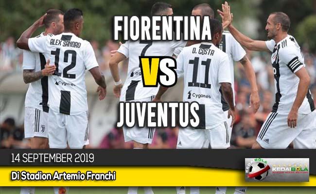 Prediksi Skor Bola Fiorentina vs Juventus 14 September 2019
