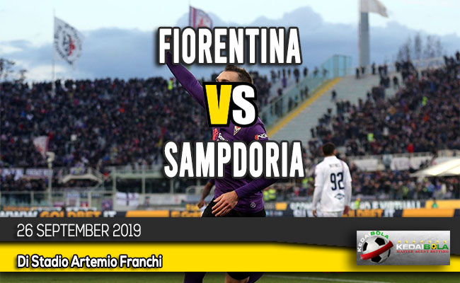 Prediksi Skor Bola Fiorentina vs Sampdoria 26 September 2019