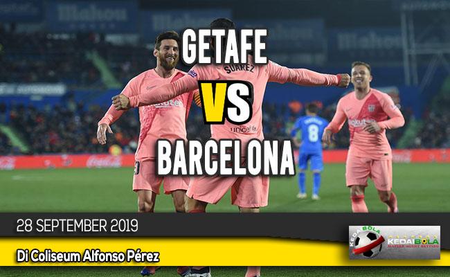 Prediksi Skor Bola Getafe vs Barcelona 28 September 2019