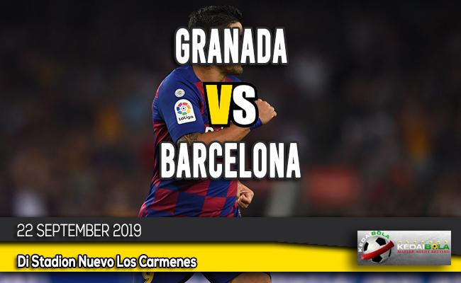 Prediksi Skor Bola Granada vs Barcelona 22 September 2019