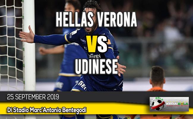Prediksi Skor Bola Hellas Verona vs Udinese 25 September 2019
