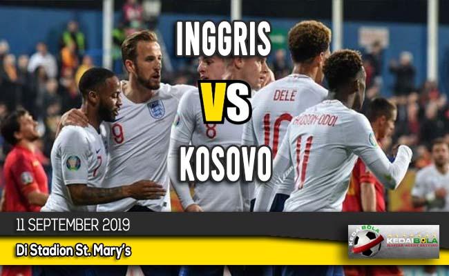 Prediksi Skor Bola Inggris vs Kosovo 11 September 2019