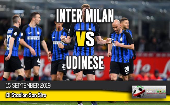 Prediksi Skor Bola Inter Milan vs Udinese 15 September 2019