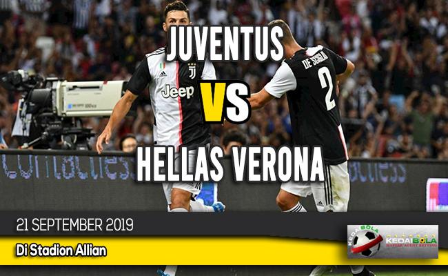 Prediksi Skor Bola Juventus vs Hellas Verona 21 September 2019