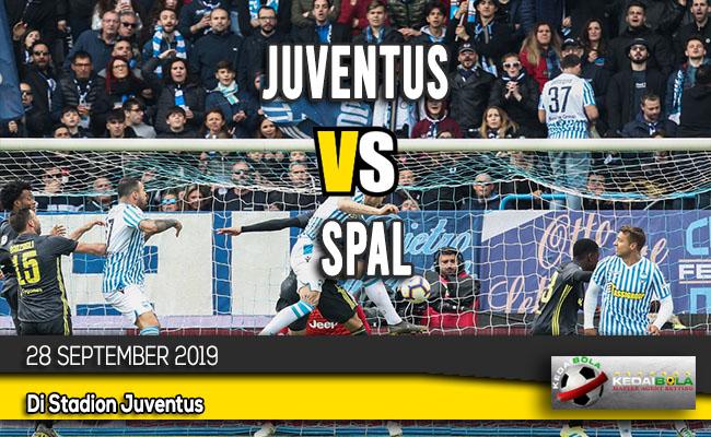 Prediksi Skor Bola Juventus vs SPAL 28 September 2019