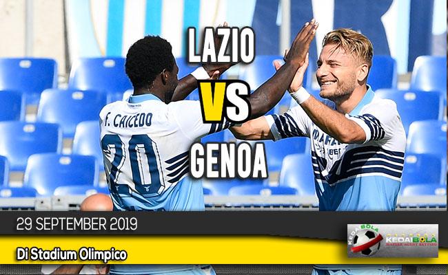 Prediksi Skor Bola Lazio vs Genoa 29 September 2019