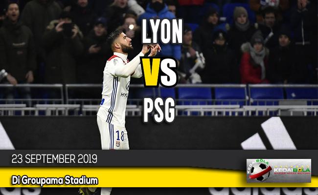 Prediksi Skor Bola Lyon vs PSG 23 September 2019
