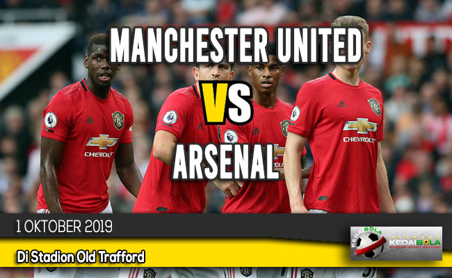 Prediksi Skor Bola Manchester United vs Arsenal 1 Oktober 2019