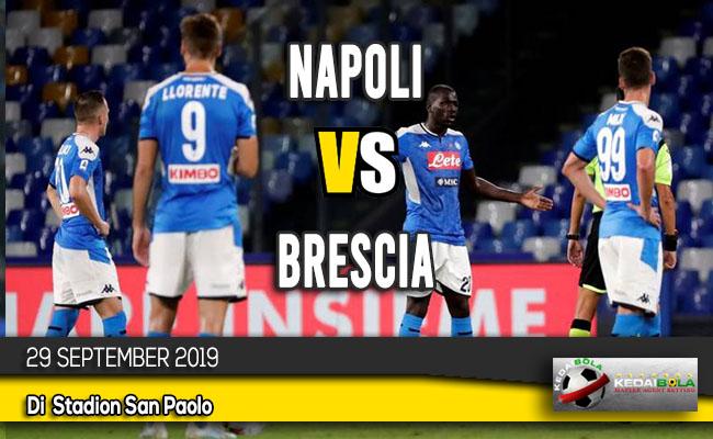 Prediksi Skor Bola Napoli vs Brescia 29 September 2019