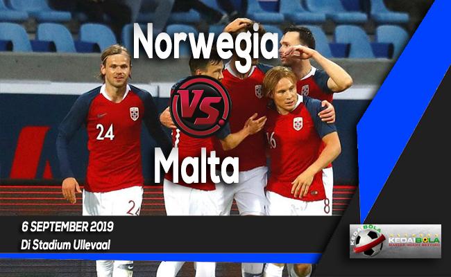 Prediksi Skor Bola Norwegia vs Malta 6 September 2019