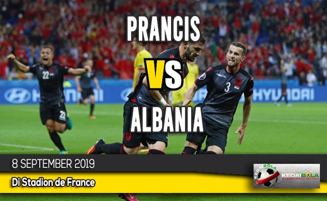 Prediksi Skor Bola Prancis vs Albania 8 September 2019