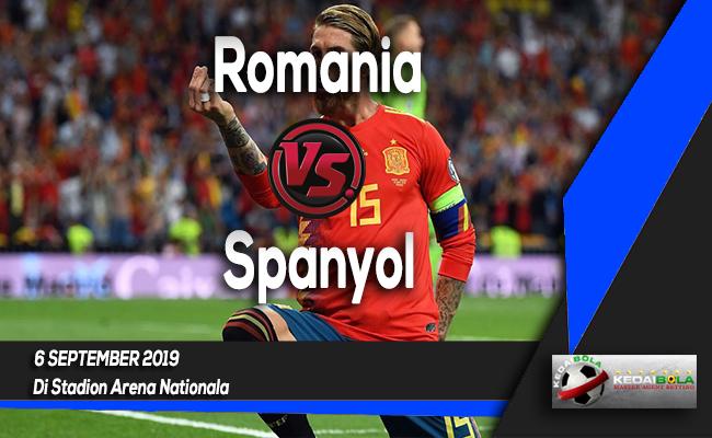 Prediksi Skor Bola Romania vs Spanyol 6 September 2019