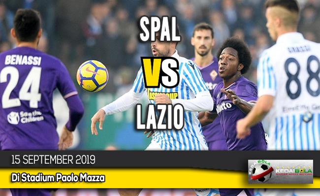 Prediksi Skor Bola SPAL vs Lazio 15 September 2019