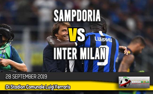 Prediksi Skor Bola Sampdoria vs Inter Milan 28 September 2019