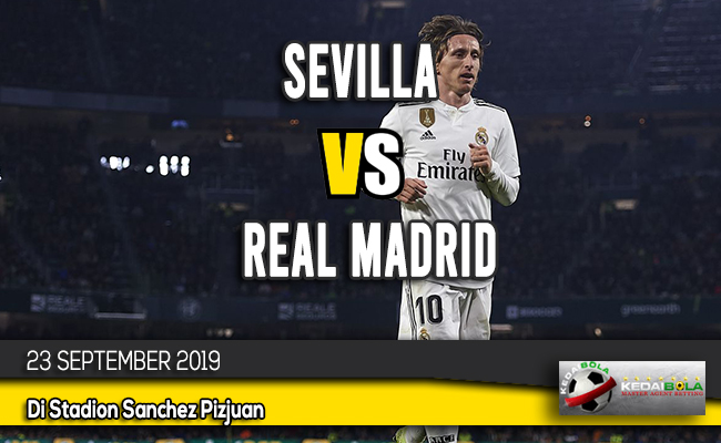 Prediksi Skor Bola Sevilla vs Real Madrid 23 September 2019
