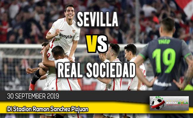 Prediksi Skor Bola Sevilla vs Real Sociedad 30 September 2019