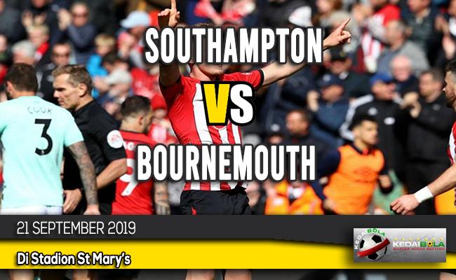 Prediksi Skor Bola Southampton vs Bournemouth 21 September 2019